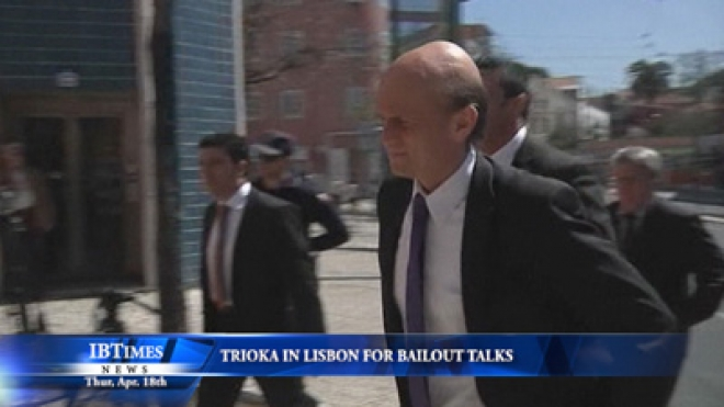 Troika In Lisbon For Bailout Talks