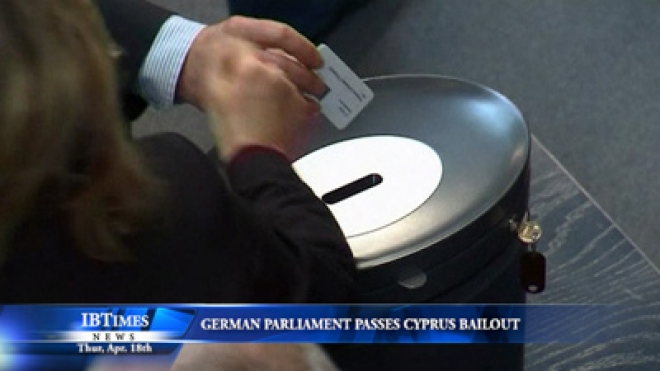 German Parliament Passes Cyprus Bailout