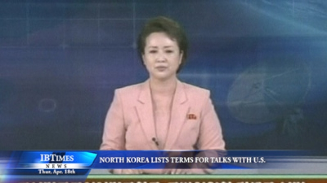North Korea Lists Terms For Talks With U.S