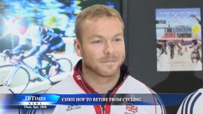 Chris Hoy to Retire From Cycling