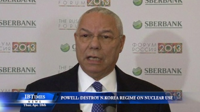 Colin Powell Says U.S. Should Destroy North Korean Regime If It Uses Nuclear Weapons