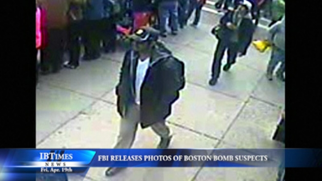 FBI Releases Photos Of Two Boston Bomb Suspects – Man Hunt begins