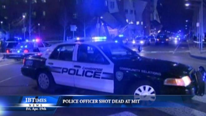 Police Officer Shot Dead At Massachusetts Institute Of Technology