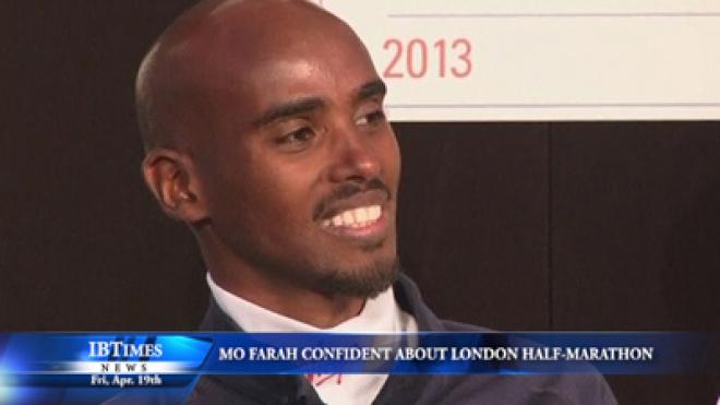Mo Farah Confident About London Half-Marathon