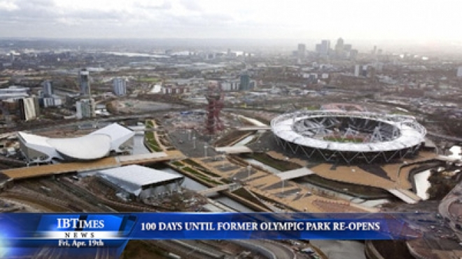 One Hundred Days Until Former Olympic Park Re-Opens