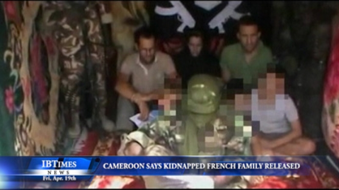 Cameroon Says Kidnapped French Family Of Seven Released