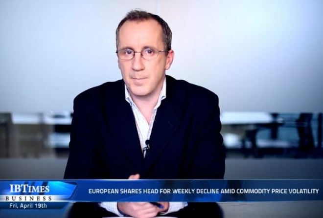 European Shares Head for Weekly Decline Amid Commodity Price Volatility