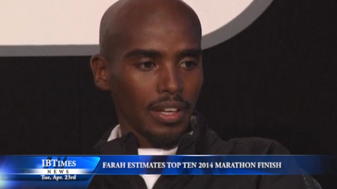 Mo Farah Estimates He Might Finish In First Ten Of Marathon