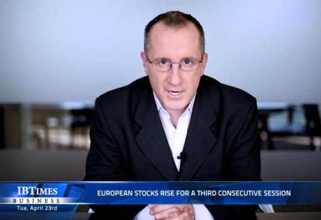 European stocks rise for a third consecutive session