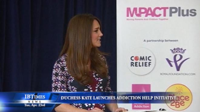 Duchess Kate Launches Addiction Help Initiative