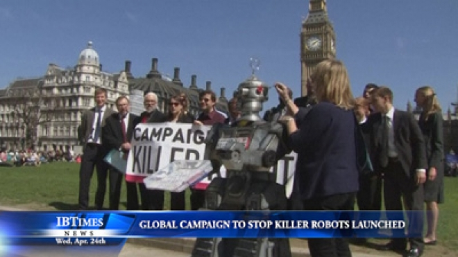 Global Campaign To Stop Killer Robots Launched In London