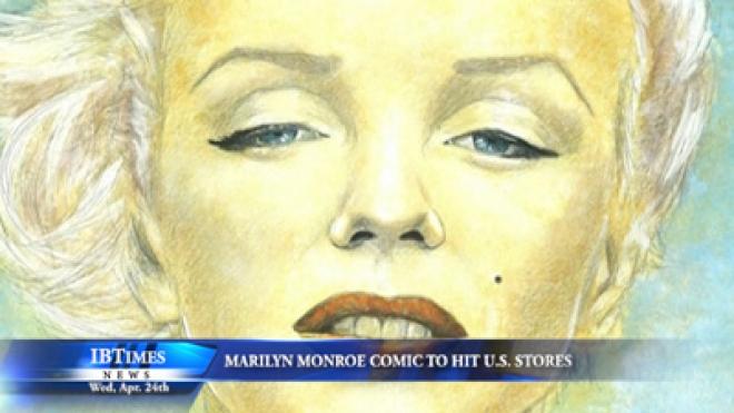 Marilyn Monroe Comic Book To Hit U.S. Stores