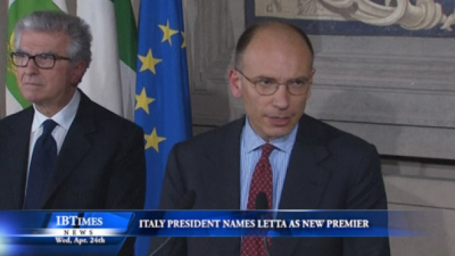 Italy President Names Centre-Left Letta As New Premier