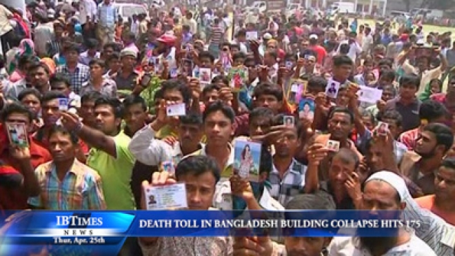 Death Toll In Bangladesh Building Collapse Climbs To At Least 175
