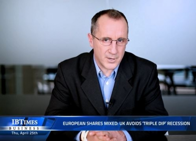 European shares mixed: UK avoids 'Triple Dip' recession