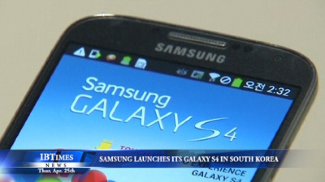 Samsung Launches Its New Galaxy S4 In South Korea