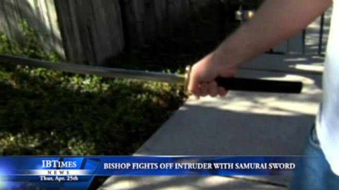 Mormon Bishop Fights Off Attacker With Samurai Sword