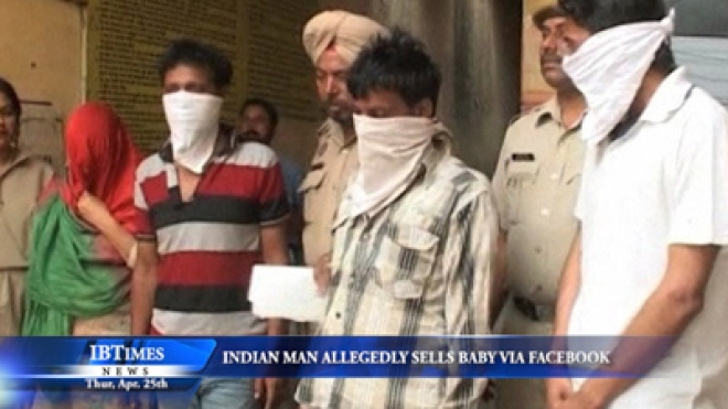 Indian Man Allegedly Sells Baby Via Facebook