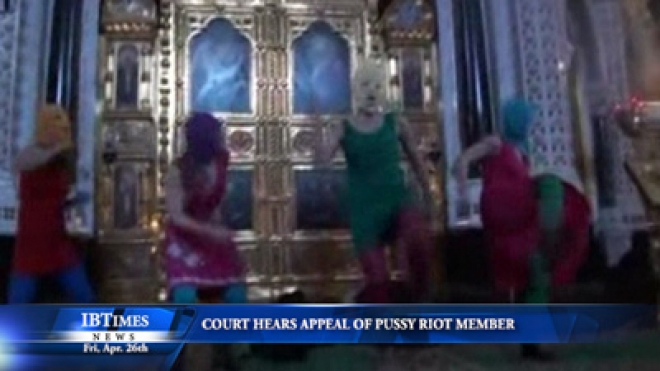 Court Hears Appeal Of Pussy Riot Member On Her Conviction For Hooliganism