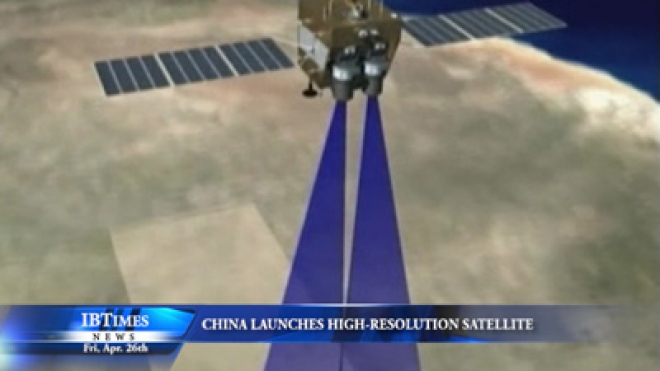 China Launches High-Resolution Satellite