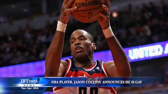 NBA Player, Jason Collins, Announces He Is Gay