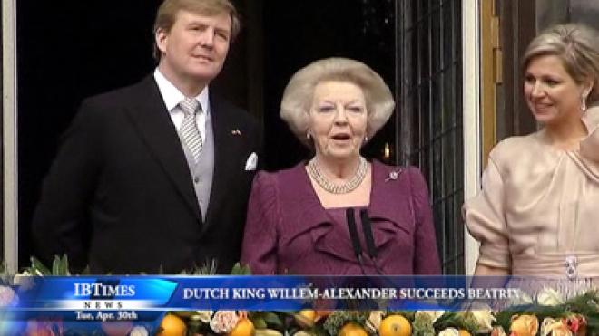 Dutch King Willem-Alexander Succeeds Mother Beatrix