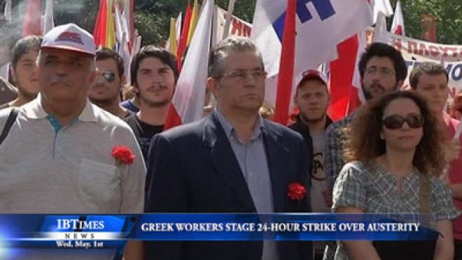 Greek Workers Stage 24-Hour Strike Over Stifling Austerity