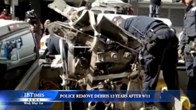 Police Remove Plane Debris 12 Years After 9/11