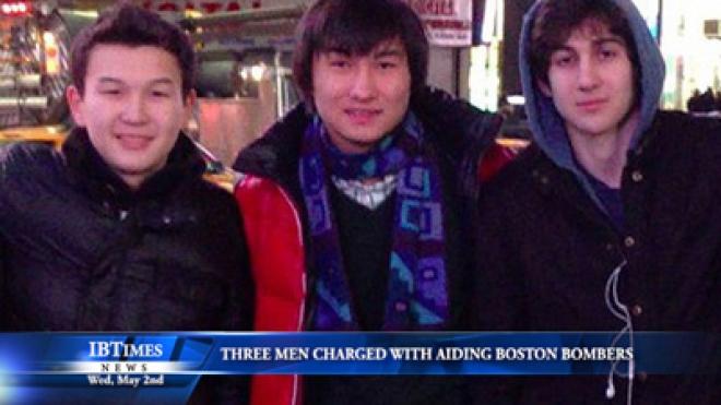 Three Men Charged With Aiding Boston Marathon Bombers
