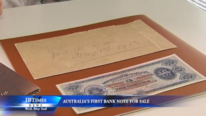 Australia First Bank Note For Sale
