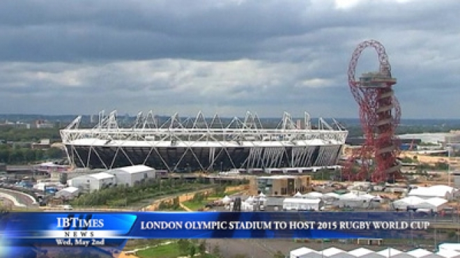 London Olympic Stadium To Host 2015 Rugby World Cup Matches