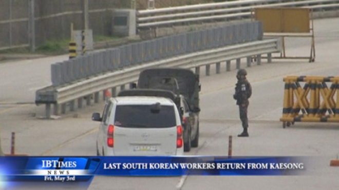 Last South Korean Workers Return From Kaesong