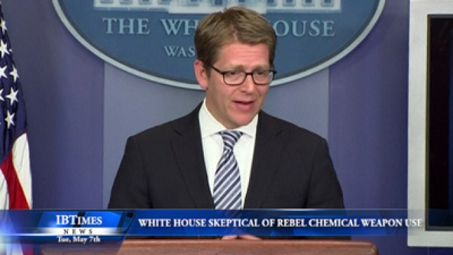 White House Skeptical Syrian Rebels Used Chemical Weapons