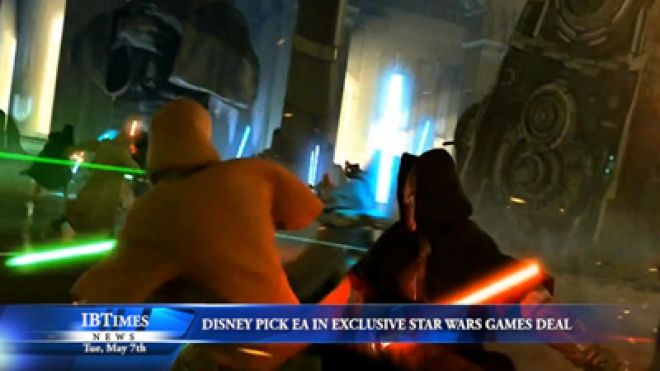 Disney Pick EA in an Exclusive Deal to Make Star Wars Games