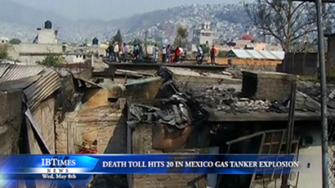 Death Toll Rises To 20 In Mexico Gas Tanker Explosion