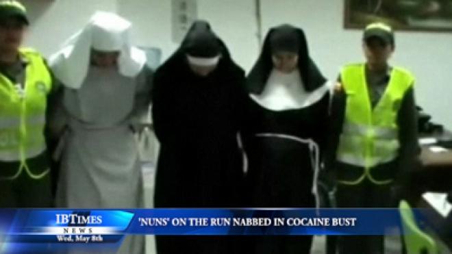 Nuns on the run nabbed in cocaine bust