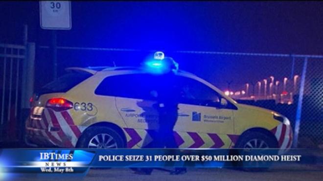 Police Seize 31 People Over $50 Million Brussels Diamond Heist