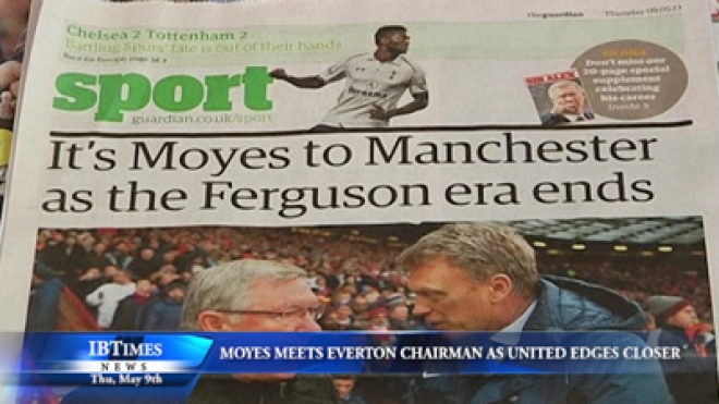 Moyes Meets Everton Chairman As United Move Edges Closer