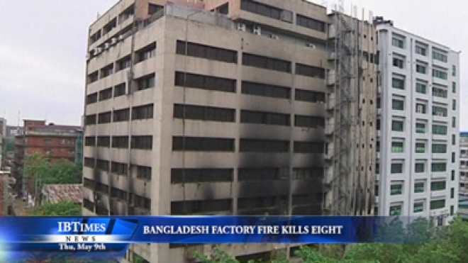 Bangladesh Factory Fire Kills Eight