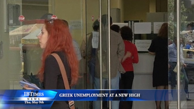Greek Unemployment At New High