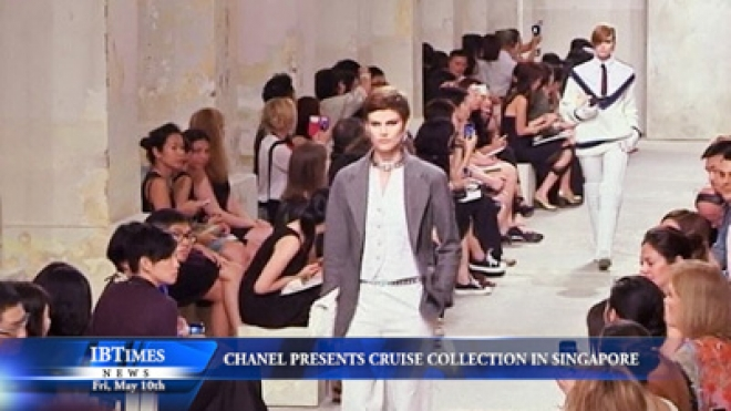 Chanel Presents Cruise Collection In Singapore