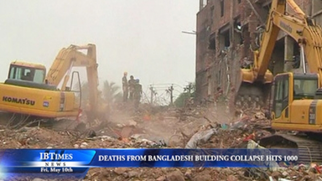 Death Toll At Bangladesh Collapsed Building Passes A Thousand