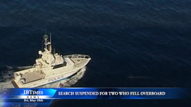 Search Suspended For Two Who Fell Overboard A Cruise Ship
