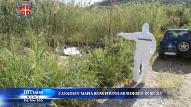 Canadian Mafia Boss Found Murdered In Sicily