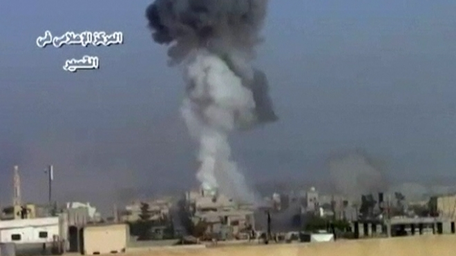Syrian Army, Hezbollah Attack Rebels In Border Town
