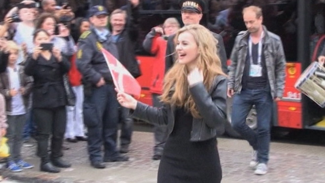 Eurovision Winner Returns Home To An Ecstatic Welcome