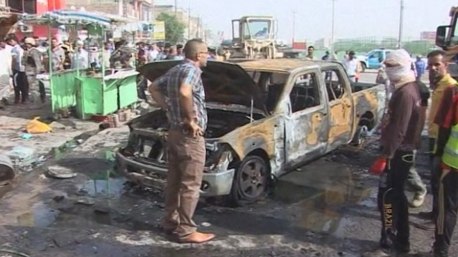 Car Bombs Kills Dozens in Iraq