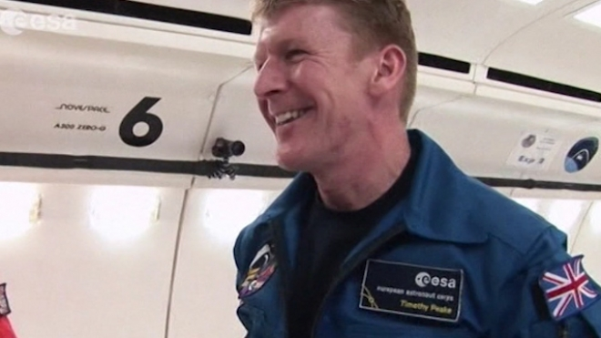 Former British Helicopter Pilot Set For Space