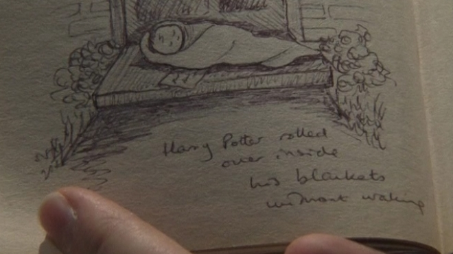 Harry Potter First Edition With Notes Up For Auction