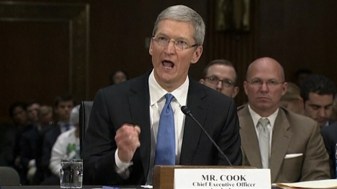 Tim Cook Explains Apple's Tax Position To Senate